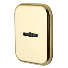 Декоратив. Квадратная накл. на сув. замок со шторкой PS-DEC SQ CT (ATC Protector 1) GP-2 Золото
