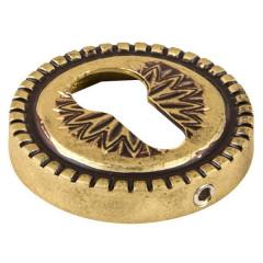Накладка CYLINDER ET/CL-FG-10 Французское золото 2 шт.