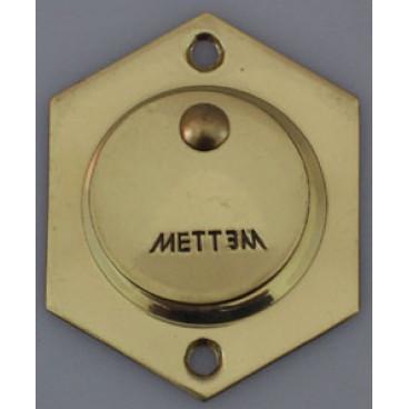 Накладка латунная под сувальдный ключ (комплект)