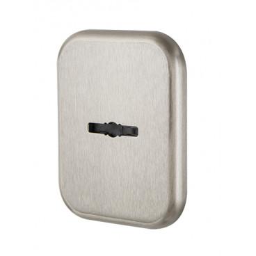 Декор. Квадратная накл. на сувальдный со шторкой PS-DEC SQ CT (ATC Protector 1) SN-3 Мат.никель