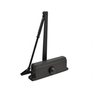 Доводчик дверной Нора-М 5S морозостойкий 160 кг (черный)
