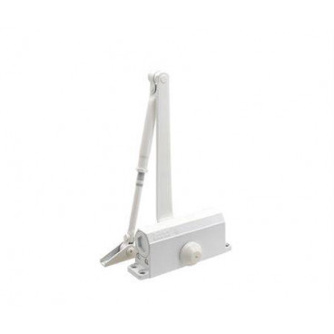 Доводчик дверной Нора-М 2S морозостойкий 50 кг (белый)