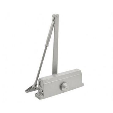 Доводчик дверной Нора-М 4S морозостойкий 80-120 кг (серебро)