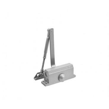 Доводчик дверной Нора-М 2S-F морозостойкий 50 кг (серебро)