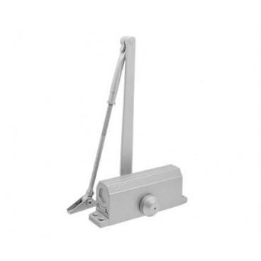 Доводчик дверной Нора-М 3S морозостойкий 50-80 кг (серебро)