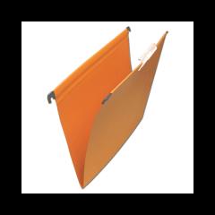 Папки Fil.pak A4 (1/50 оранж,син) (пачка по 50 шт.)
