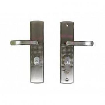 """Комплект ручек для китайской двери """"ZH-9012 Автомат Перфо"""", левая"""