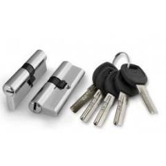 Цилиндровый механизм Punto A200/90 mm (30+10+50) SN мат. никель