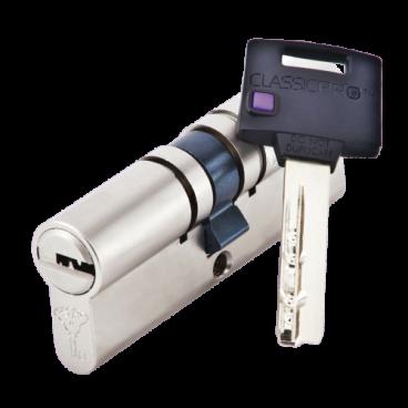 Механизм цилиндровый Mul-T-Lock Classic Pro (40x60) кл/кл Никель