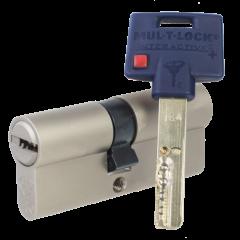 Механизм цилиндровый Mul-T-Lock Interactive+ (80х80) кл/кл Никель