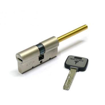 Механизм цилиндровый Mul-T-Lock MT5+ (31U х60) шток/кл Никель