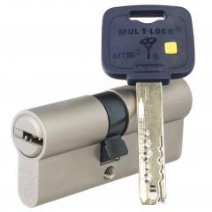 Механизм цилиндровый Mul-T-Lock MT5+ (35х75) кл/кл Никель