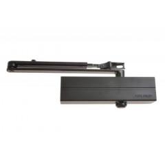 Шестеренно-реечный доводчик ASSA-ABLOY DC140 black, усилие EN2/3/4/5 c тягой, с антивандальным клапаном и back check