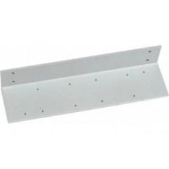 Угловая монтажная пластина ASSA-ABLOY A107 silver для DC340/347