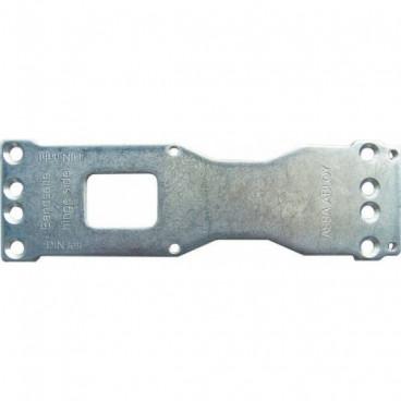 Монтажная пластина ASSA-ABLOY A120  silver для DC200/336/500/700
