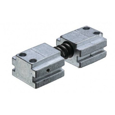 Демпфер открывания ASSA-ABLOY A153 silver для скользящей тяги G195/893