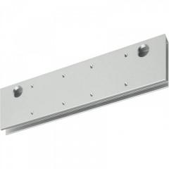 Монтажная пластина ASSA-ABLOY A164 silver для DC200 (двери из стекла), серебристая