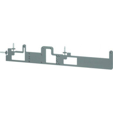 Пластина ASSA-ABLOY A176 silver (шаблон) для разметки доводчиков ASSA ABLOY