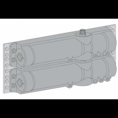 Монтажный набор для парной установки ASSA-ABLOY DC110 silver DC340/347