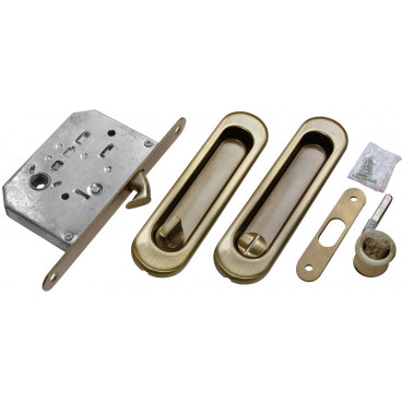 Ручка для раздвижной двери Morelli MHS150 WC AB бронза