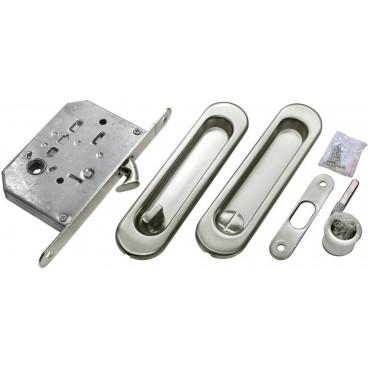 Ручка для раздвижной двери Morelli MHS150 WC SC матовый хром