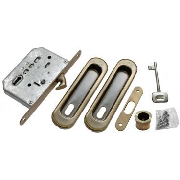 Ручка для раздвижной двери Morelli MHS150 L AB бронза