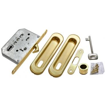 Ручка для раздвижной двери Morelli MHS150 L SG матовое золото