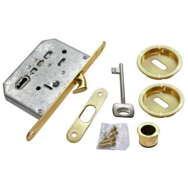 Ручки для раздвижных дверей Morelli MHS-1 L SG матовое золото