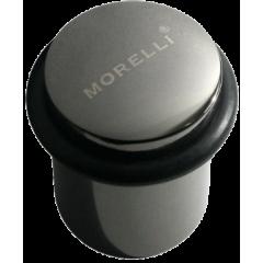Упор дверной Morelli DS3 BN черный никель