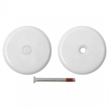 Декоративная накладка Fuaro ESC-001-WH заглушка (белый)