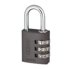 Навесной кодовый замок ABUS 724 724/30  METAL серый