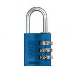 Навесной кодовый замок ABUS 724 724/30 RAINBOW синий
