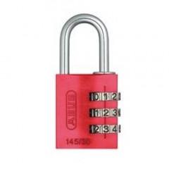 Навесной кодовый замок ABUS 724 724/30 RAINBOW красный