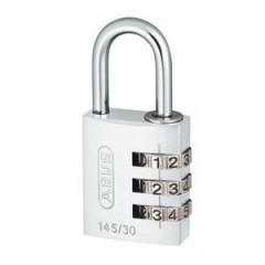 Навесной кодовый замок ABUS 724 724/30  METAL белый
