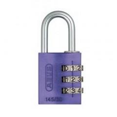 Навесной кодовый замок ABUS 724 724/30 RAINBOW фиолетовый