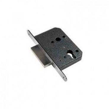 ЗВ1-01 (никель) корпус замка с накладками к цилиндровому механизму