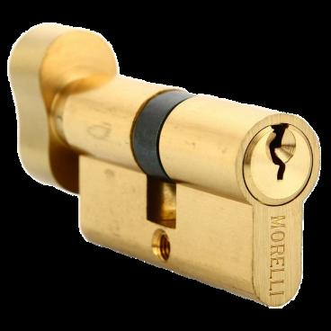Механизм цилиндровый Morelli 60CK PG золото