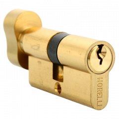 Механизм цилиндровый Morelli 70CK PG золото