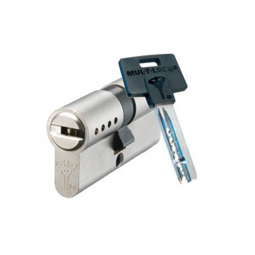 Механизм цилиндровый Mul-T-Lock Classic (35x65) кл/кл Никель