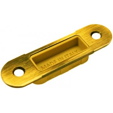 Планка ответная для магнитных защелок Morelli W8 золото