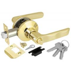 Ручка защелка Punto 6024 PB-E (кл./фик.) золото