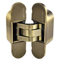 Петля скрытой Armadillo (Армадилло) установки с 3D-регулировкой UNIVERSAL 3D-ACH 60 AB Бронза