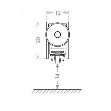 Автоматический порог Armadillo EASY TREND ASTD A/830