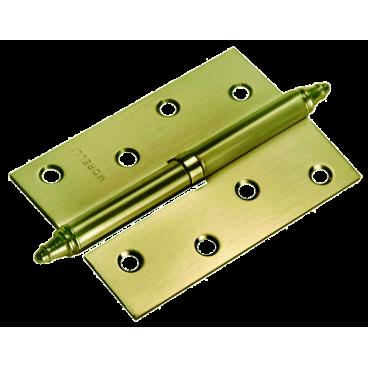 Петля сьемная Morelli MS 100X70X2.5 R AB бронза