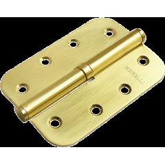 Петля съемная Morelli MSD-C 100X70X2.5 SG L  матовое золото