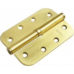 Петля съемная Morelli MSD-C 100X70X2.5 SG R  матовое золото