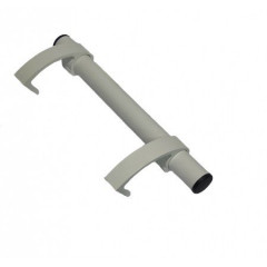 Ручка дверная для металлопластика Аверс-К РП-300 БЕЛАЯ