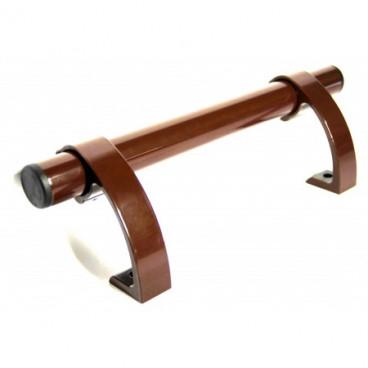 Ручка дверная для металлопластика Аверс-К РП-500 КОРИЧНЕВАЯ