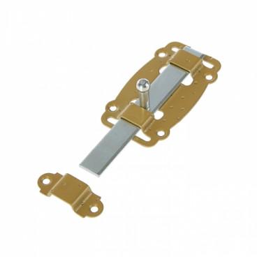 Задвижка ЗД-100-Пл плоская зол.металлик/цинк