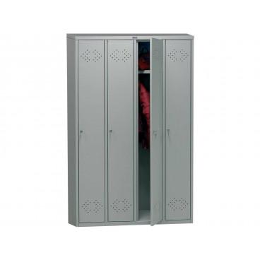Шкаф медицинский для одежды Практик МД LS(LE)-41